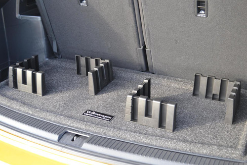 Volkswagen Atlas Cargo Mat with Organizing Blocks
