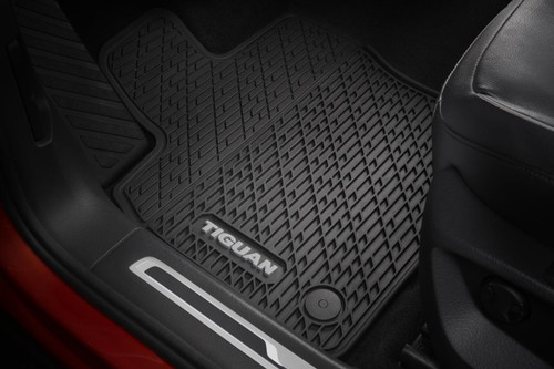 Vw Beetle Rubber Floor Mats Vw Accessories Shop