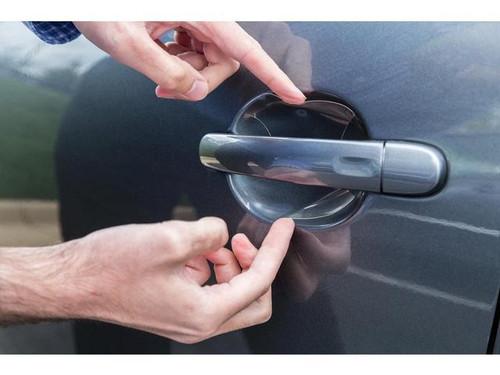 VW Golf Alltrack Rear Bumper Protector Film