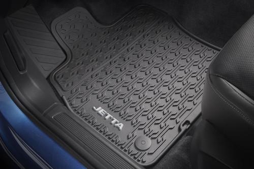 2019 VW Jetta Rubber Floor Mats