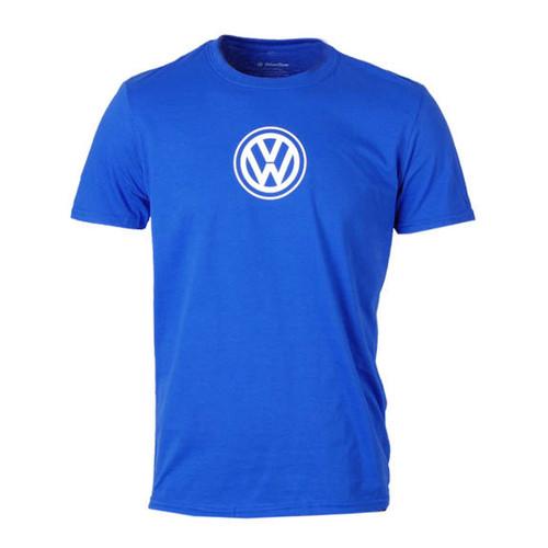 VW Logo T-Shirt - Royal Blue