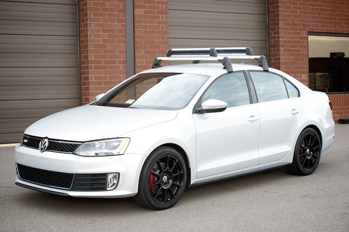 Vw Gli Roof Rack Bars Free Shipping Vw Accessories Shop