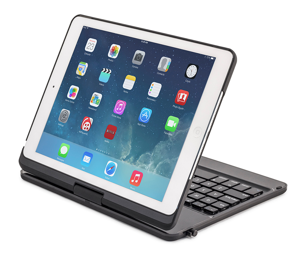 360 rotating keyboard case with stylus for ipad air by kingrain