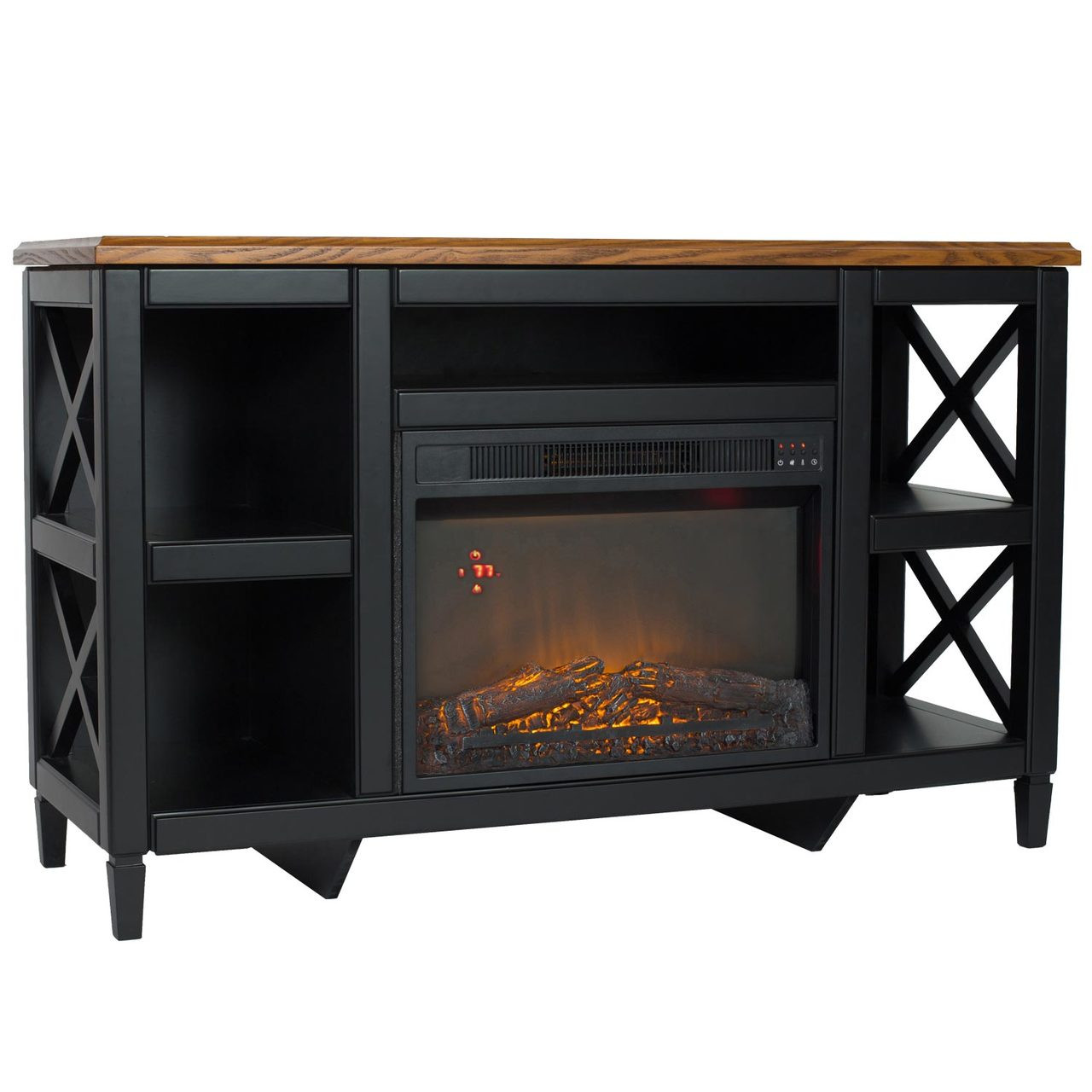comfort glow qef7541rkd camden media center with infrared quartz rh worldmkting com Entertainment Center with Fireplace Corner Electric Fireplace Media Center