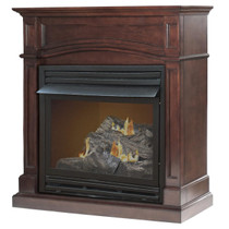 Kozy World GFD3290R The Brentmore Remote  Controlled Propane(LP) or Natural Gas(NG) Vent Free  Fireplace, 32,000 BTUs