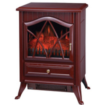 Comfort Glow ES4220 Ashton Electric Stove Cranberry