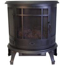 Comfort Glow ES4830 Claremont  Black Electric Stove with 180 Degree Viewing