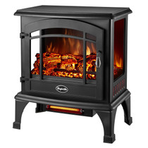 Comfort Glow EQS5140 Sanibel 3-Sided Infrared Quartz Electric Stove