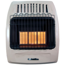 Comfort Glow KWD326 18,000 Btu 3 Plaque Propane(LP) & Natural Gas(NG) Infrared Vent Free Wall Heater