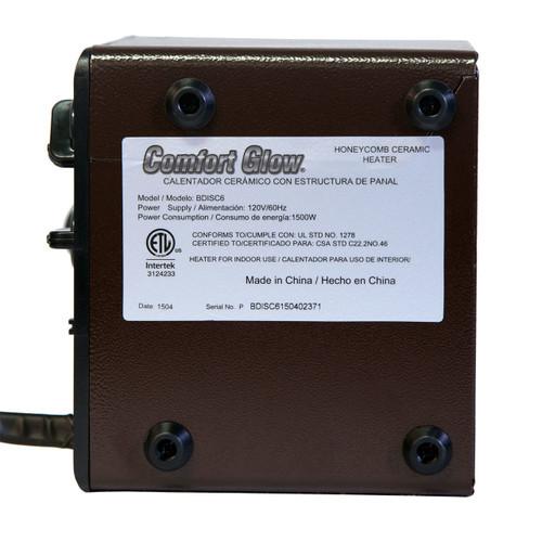 Bdisc6 Original Brown Box Ceramic Disc Heater 5 200 Btus