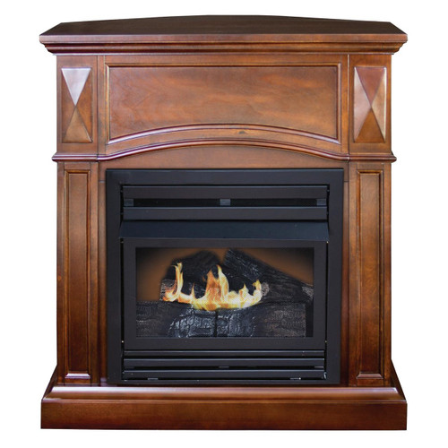Kozy World GFD2042 The Belmont Propane (LP) or Natural Gas(NG)  Vent Free Fireplace, 20,000 BTUs