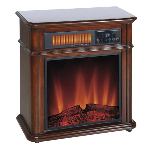 Comfort Glow QF4714R Devonshire Infrared Quartz Electric Fireplace