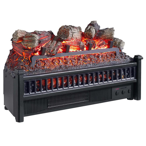 Comfort Glow ELCG240 Electric Log Insert, Heater With  Firebox Flame Projection 4,600 BTUs