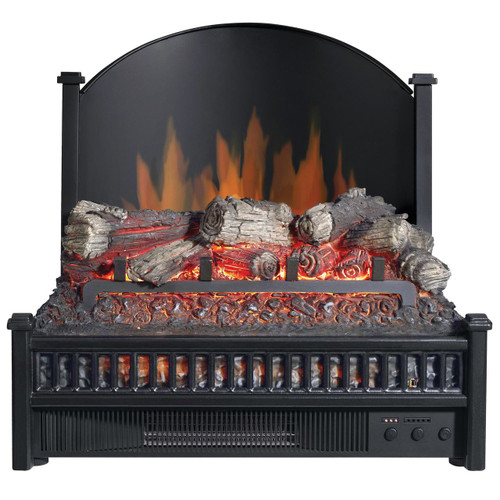 Comfort Glow ELCG347 Electric Log Insert, Heater & Rear Reflecting Panel 4,600 BTUs