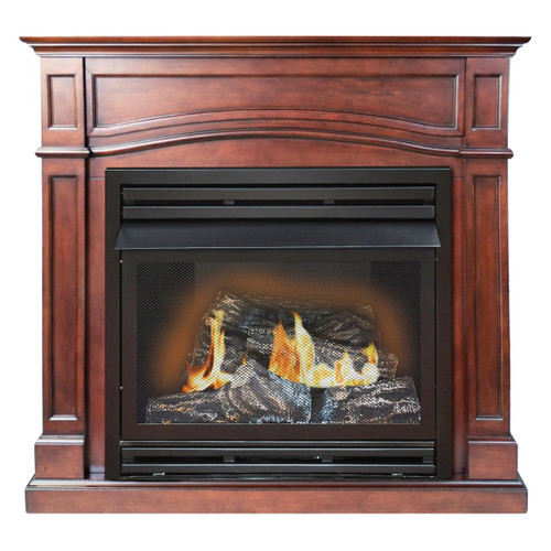 Comfort Glow GFD3291R The Brentmore Remote Controlled Vent Free Gas Fireplace, 32,000 BTUs