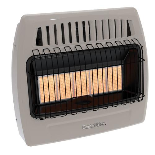 Comfort Glow KWD526 30,000 Btu 5 Plaque Propane(LP) & Natural Gas  Infrared Vent Free Wall Heater