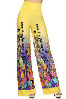 Birds of Paradise Wide Leg Leggings