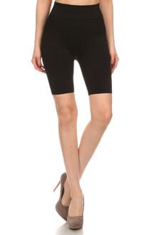 Luxe Nylon Spandex Biker Shorts