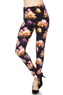 Playful Floral Leggings