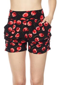 Cherry Harem Shorts