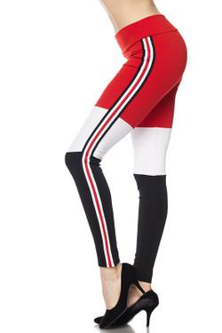 Fashion Casual Sexy Tri Sport Leggings