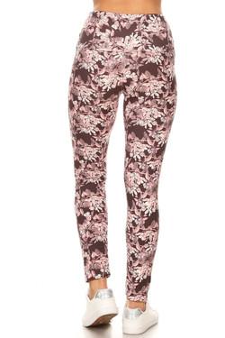 Buttery Soft Beautiful Pink Eden High Waisted Leggings