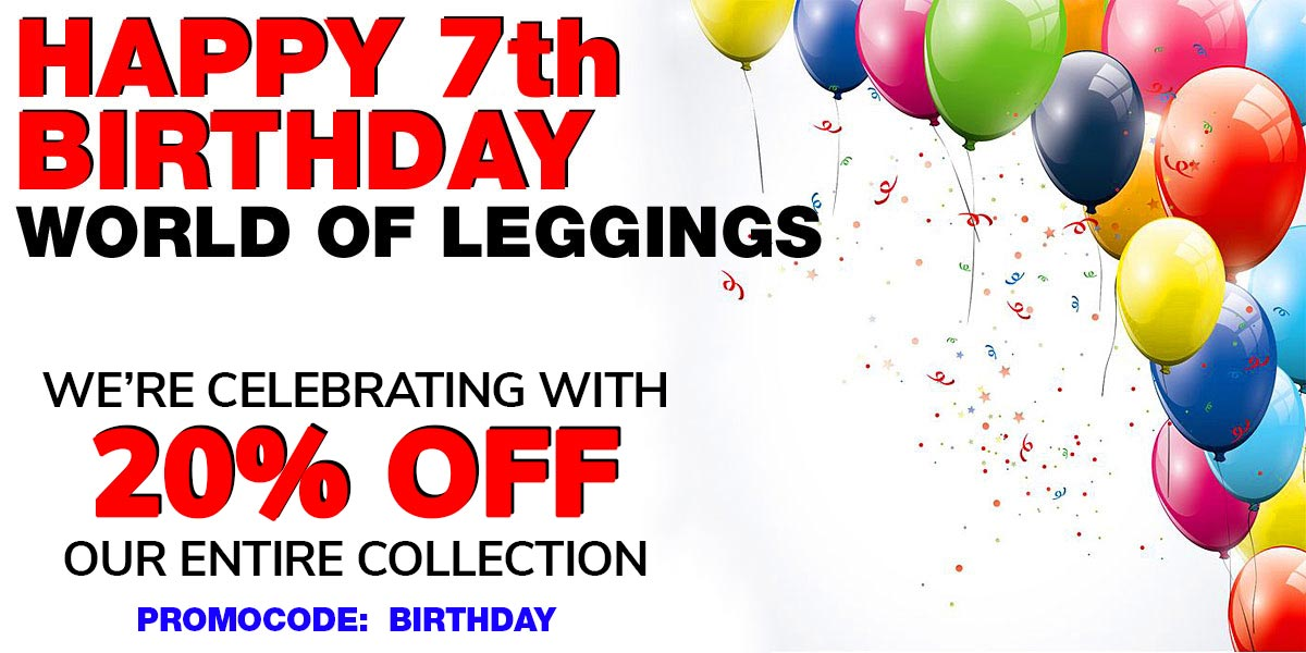 Birthday Leggings Sale