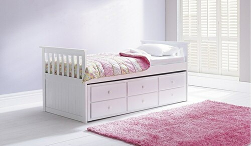 Sophie single bed + trundle