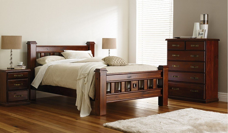 Orlando 4 pce tallboy bedroom suite