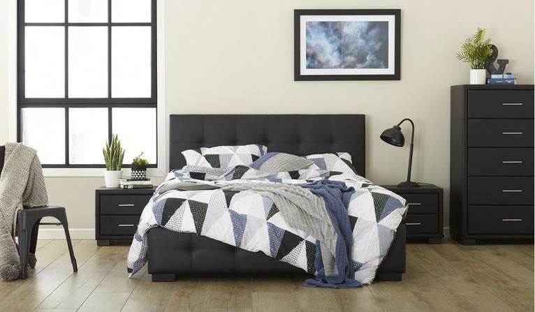 Cambridge 4 pce tallboy bedroom suite