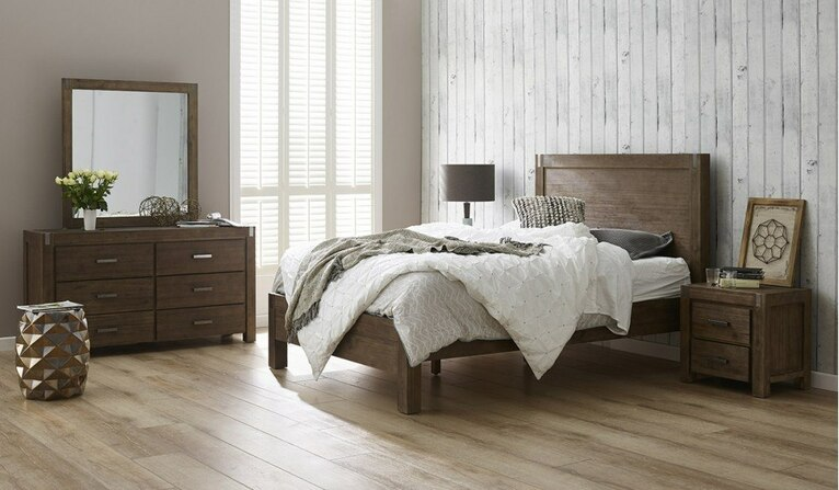 Boulevard 5 pce dressing table bedroom suite