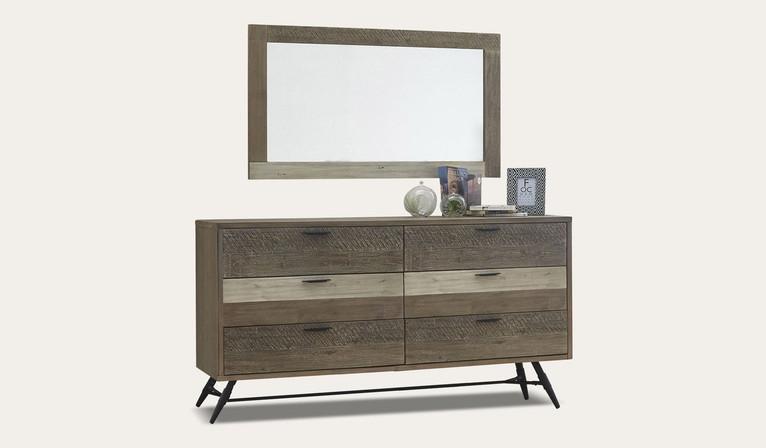 Havana dressing table + mirror