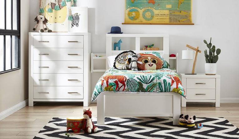 Tex 3 pce tallboy bedroom suite