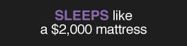 Sleeps like
