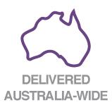 Delivered Australia-wide