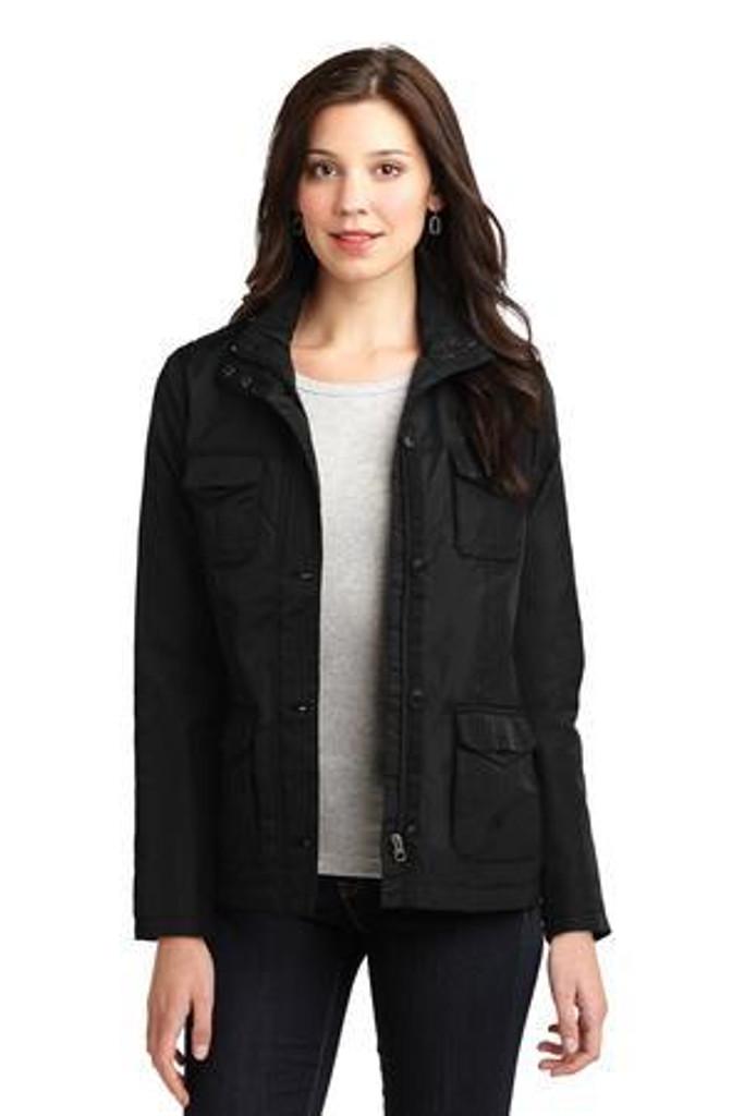 Ladies Four-Pocket Jacket