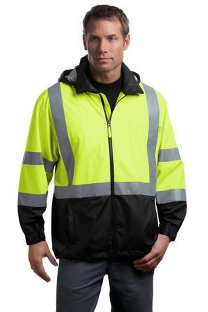 ANSI 107 Class 3 Safety Windbreaker