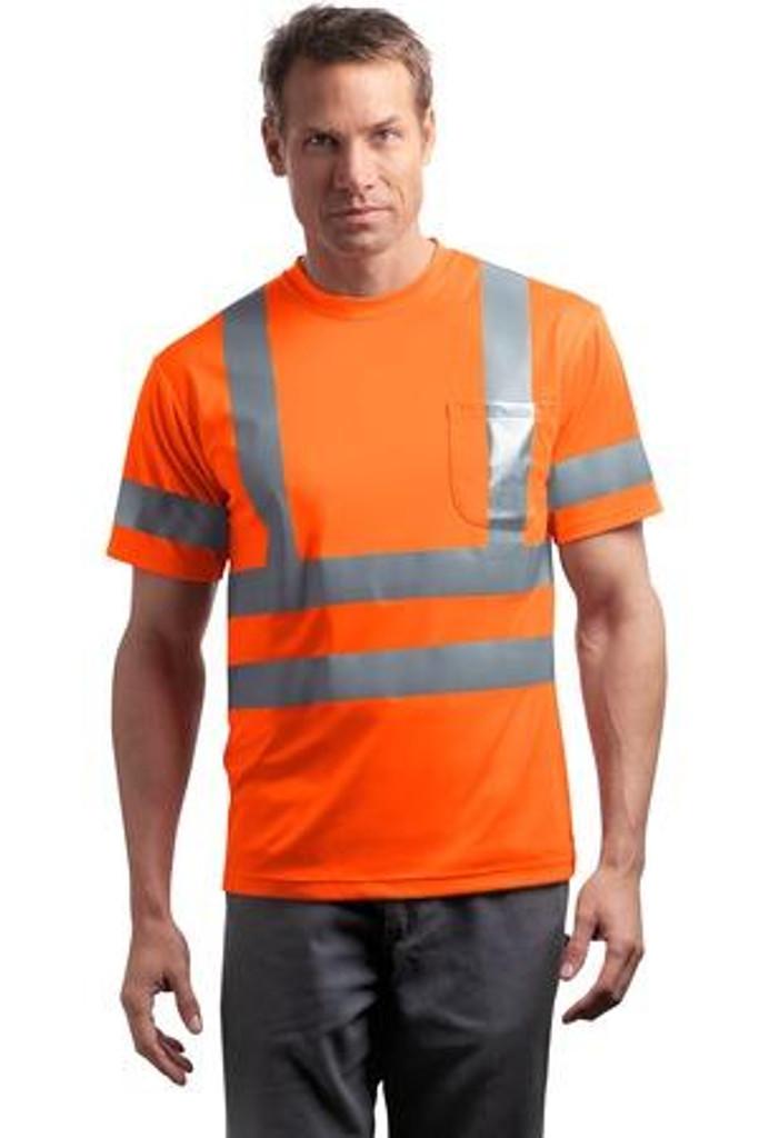 ANSI 107 Class 3 Short Sleeve Snag-Resistant Reflective T-Shirt