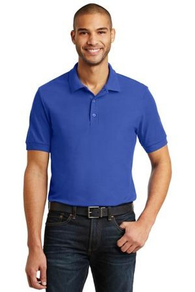 66-Ounce 100% Double Pique Cotton Sport Shirt