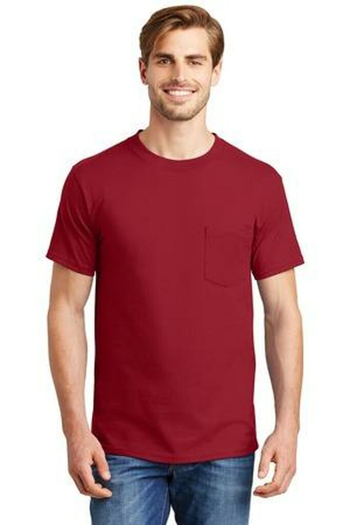 Beefy-T - 100% Cotton T-Shirt with Pocket