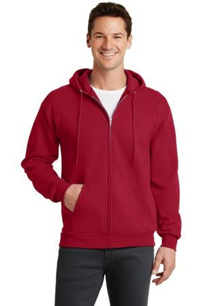 Core Fleece Full-Zip Hooded Sweatshirt