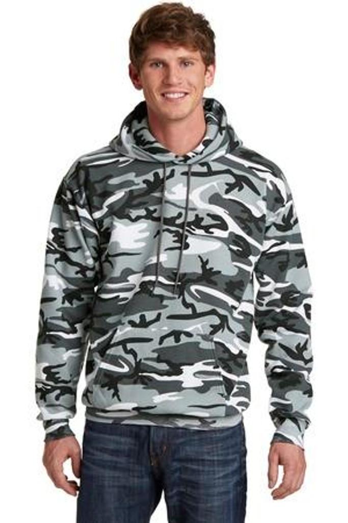 Core Fleece Camo Pullover Hooded Sweatshirt