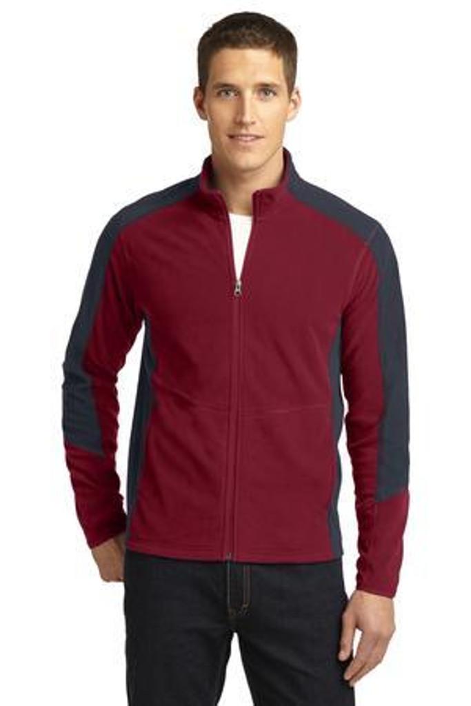 Colorblock Microfleece Jacket