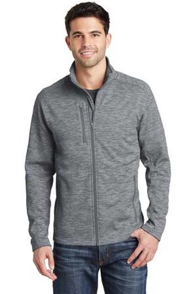 Digi Stripe Fleece Jacket