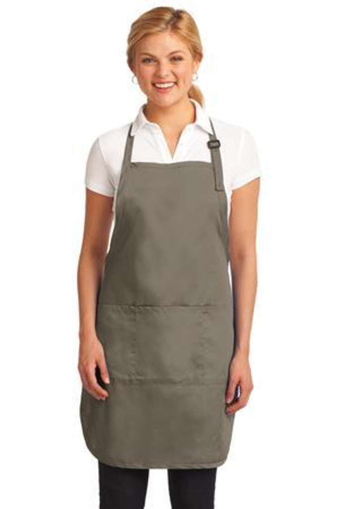 Easy Care Full-Length Apron with Stain Release