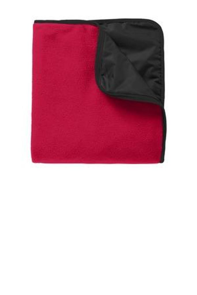 Fleece & Poly Travel Blanket