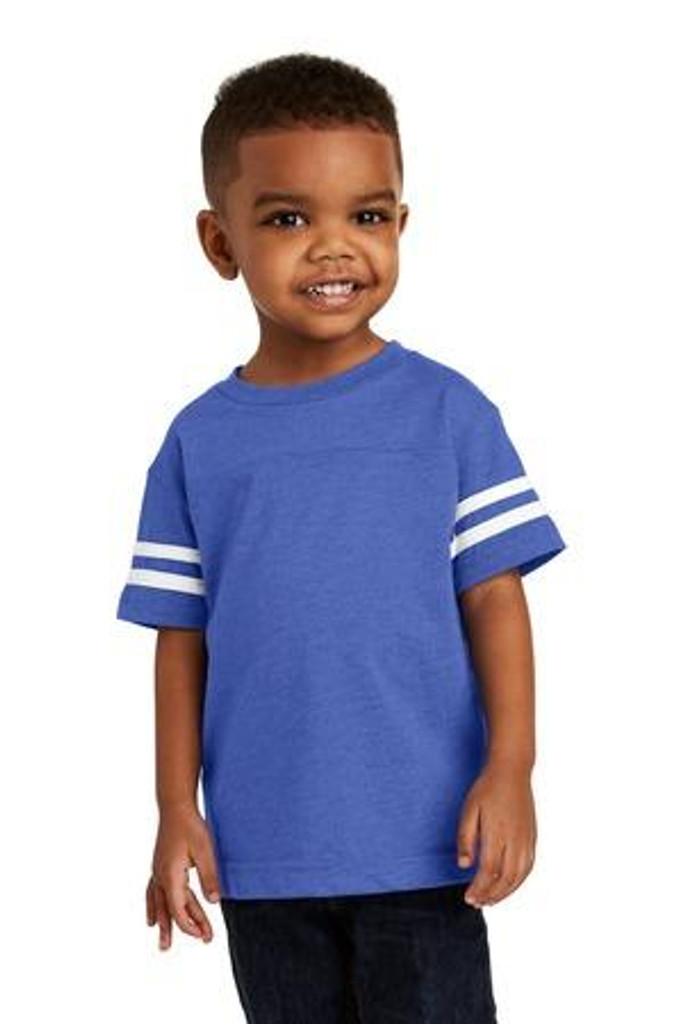 Toddler Football Fine Jersey Tee