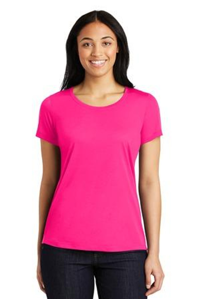 Ladies  Competitor Cotton Touch Scoop Neck Tee