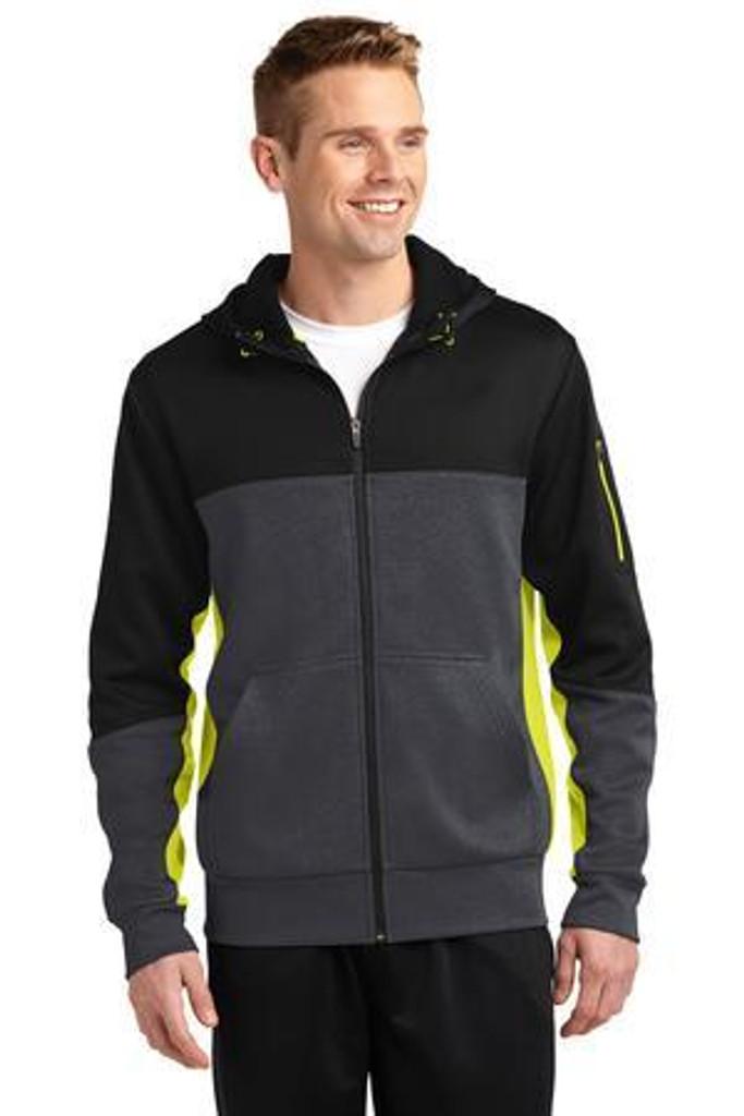 Tech Fleece Colorblock Full-Zip Hooded Jacket