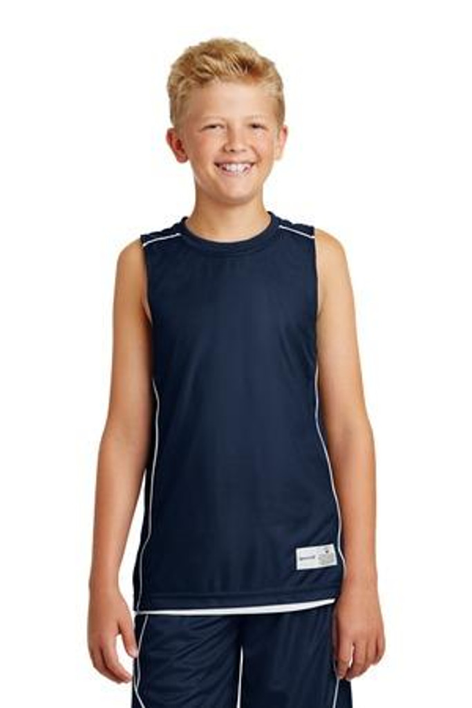 Youth  Mesh Reversible Sleeveless Tee